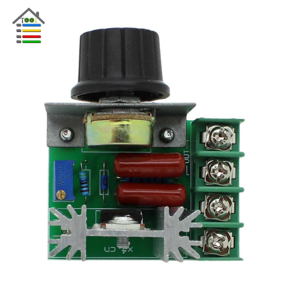 Ac 50 220v 2000w 10a voltage regulator pwm pulse width for Pwm ac motor control