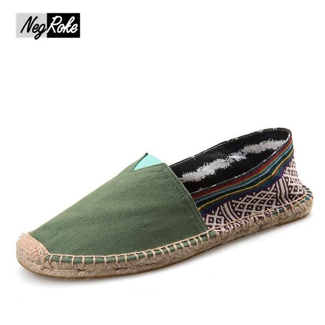2017 summer simple couples men shoes Casual Cotton&linen shoes flats Canvas leisure shoes espadrilles mary jane flats zapatillas