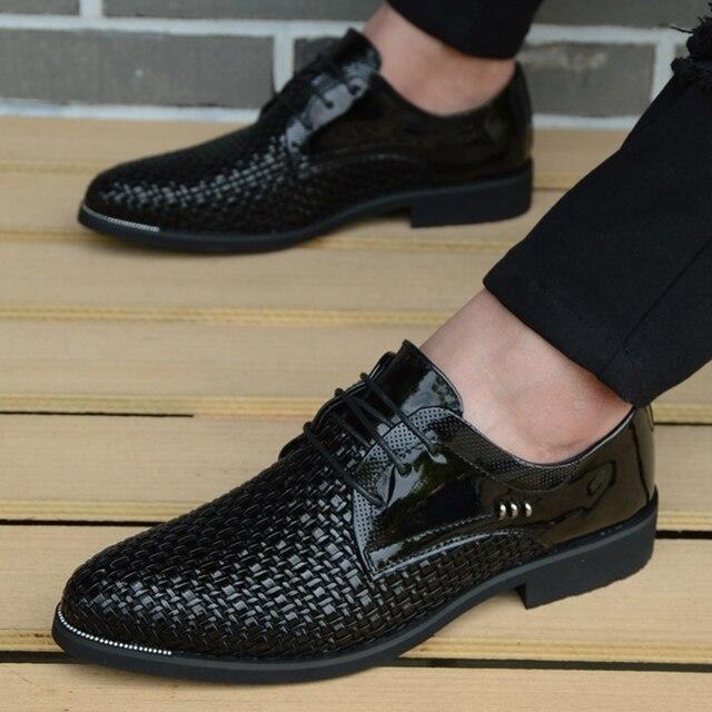Marca Cuero Italianos Para Planos Conducción Hombre Hombres Genuino Zapatos Mocasines Lujo Casual Oxfords De PkXOlwiuTZ