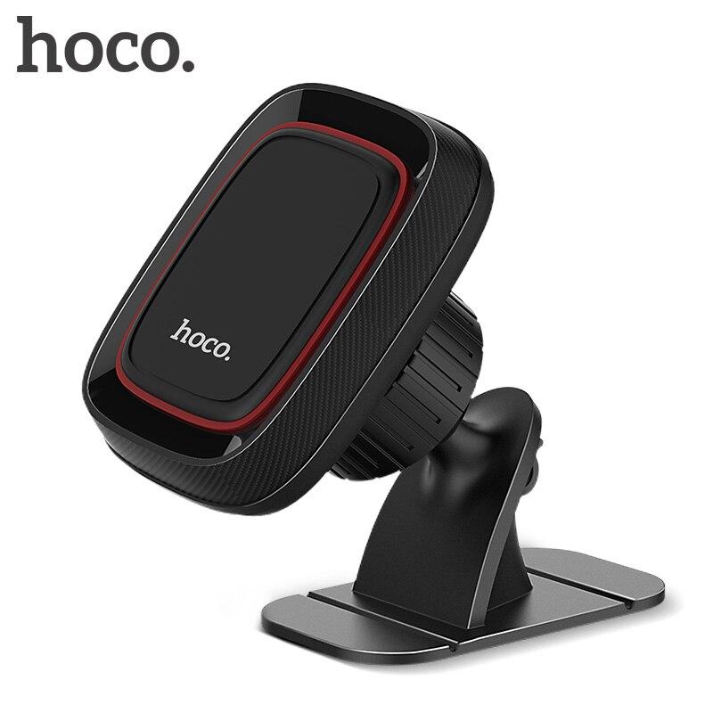 HOCO Magnetische Universal Magnetische Auto Telefon Halter 360 Rotation Handy Halter Soporte Auto Telefon Ständer Halter Für iPhone