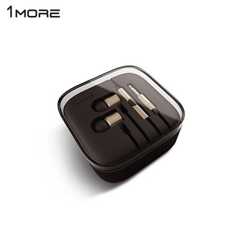 Original 1MORE Piston 2 Classic earphone with Microphone metal earbuds volume control for apple iphone xiaomi huawei sony meizu