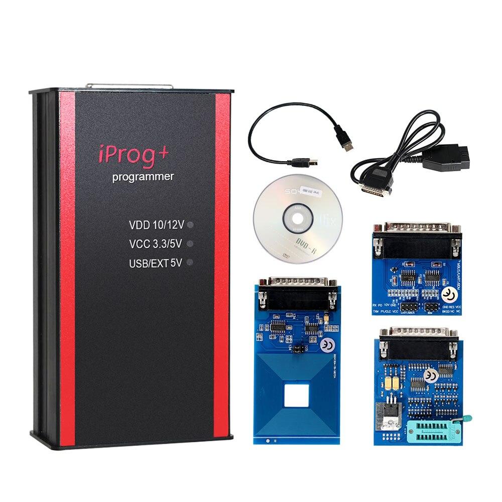 Mais novo Iprog + Apoio Programador IMMO + Correção de Quilometragem + Iprog Pro Até 2019 Substituir Carprog Airbag Reset/Digiprog /Tango