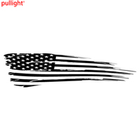 Personality Of The American Flag Car Decals Vinyl Stickers Are Suitable For All Models