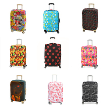 Candy-colored elastic cloth on Road Luggage Cover Antifouling Protective Suitcase dust cover Travel Accessories for 20~ 28inch