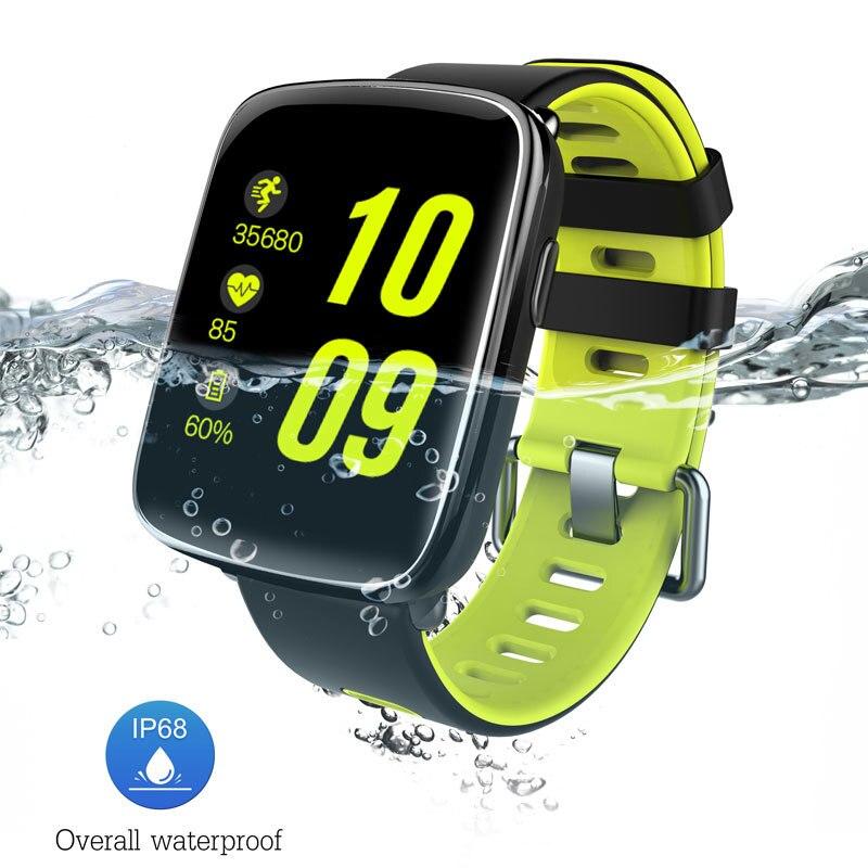 2017 nueva gv68 bluetooth smart watch impermeable ip68 smartwatch podómetro reco