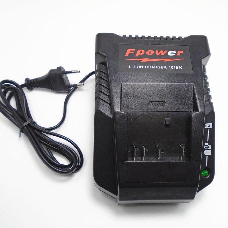 Chargeur 1018 K pour perceuse électrique Bosch 18 V 14.4 V batterie Li-ion BAT609 BAT609G