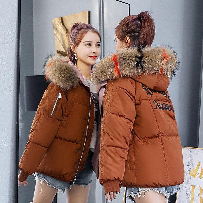 U-SWEAR Winter Womens Girls Faux Fox Fur Hooded Cotton Padded Casual Warm Coat Jackets Parka Overcoat Outwear