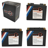 12V 180 260 350 450 480A LiFePO4 Lithium iron motorcycle battery 4 5 7 9 10 12 14Ah CCA BMS Battery with Voltage protection