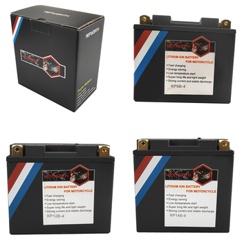 12V LiFePO4 Motorcycle Starter Battery 4Ah 7Ah 9Ah 12Ah 14Ah CCA 180A 260A 350A 450A Motorbike Lithium Battery For ATVs Scooter image