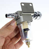 1 4 AF2000 02 Compressed Air Compressor In Line Moisture Water Filter Trap