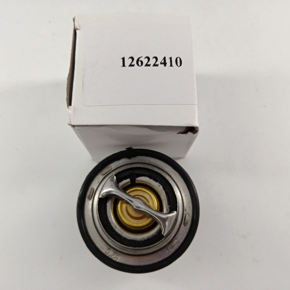Engine Coolant Thermostat Fit For 2.0L 2.4L 12622410 Cooling Temperature Thermostat 21018811 12615097