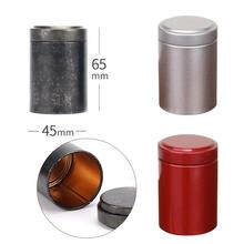 Tea Box Metal Storage Box Container Mini Kitchen Accessories