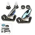 Motocycle Handlebar Aluminum Rearview Mirrors Moto End Motor Side Mirrors Motorbike Accessories for suzuki gsr 600 vespa cb650f