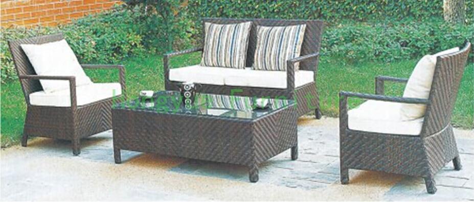 Wicker garden patio sofa Outdoor sofa furniture set