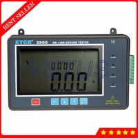 0.01 2000ohm 4 digital super large LCD Earth Resistance Online Tester measurement of ETCR2900 ground voltage meter detector|Resistance Meters| |  -