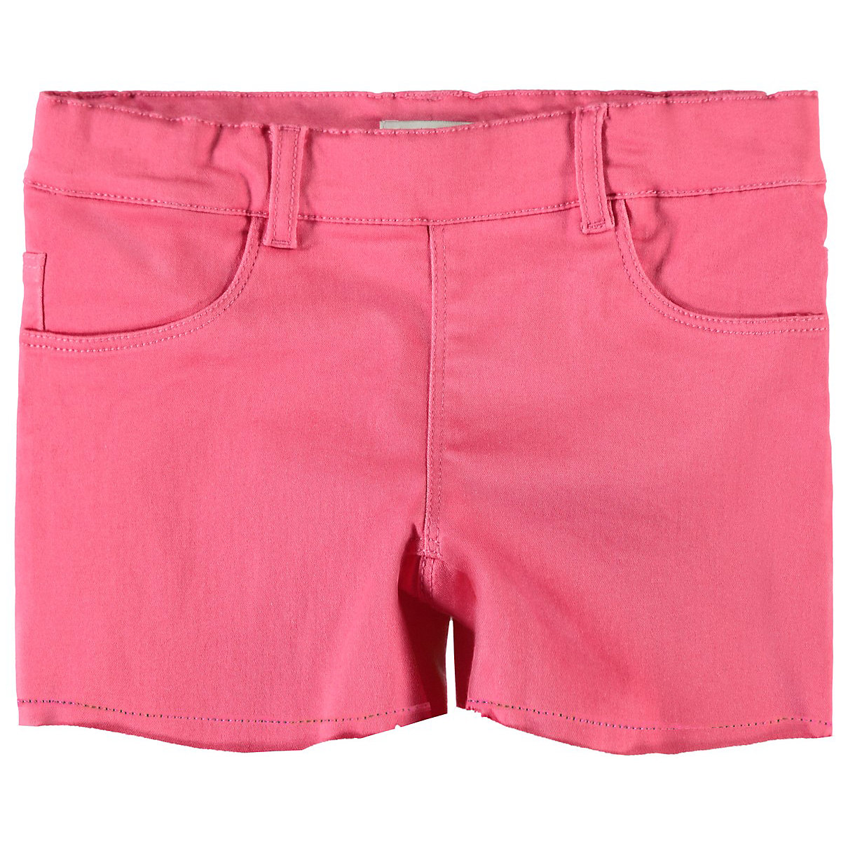 NAME IT Shorts 10626732 for boys and girls child sport for teenagers clothes Cotton Elastic Waist Girls