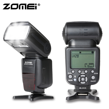 Zomei ZM580T Wireless Auto TTL Flash Professional Speedlite Camera Flash Light with High Speed Sync for Canon Digital SLR Camera