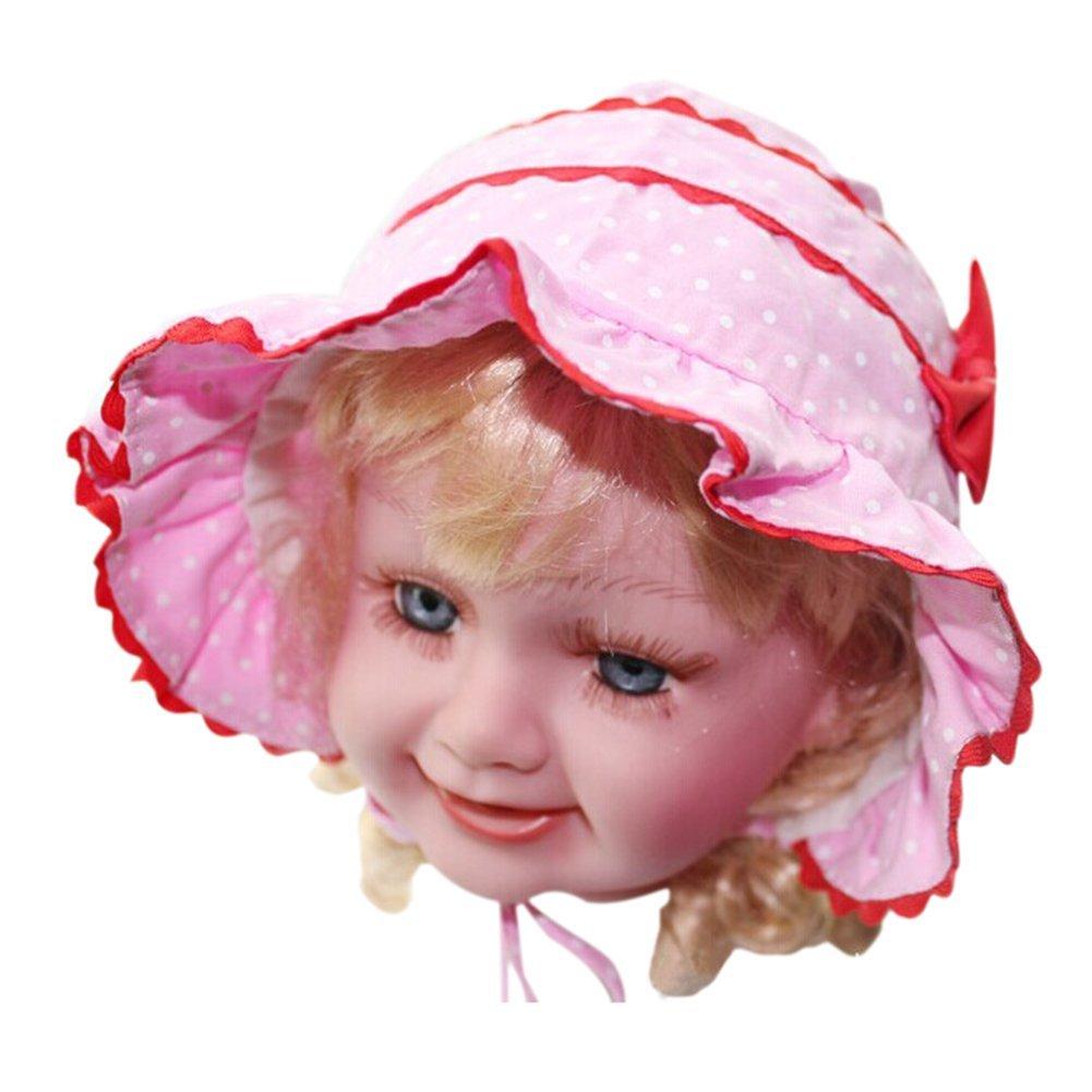 MACH 1pc Infant Newborn Girl Baby Polka Dot Bucket Sun Hat ...