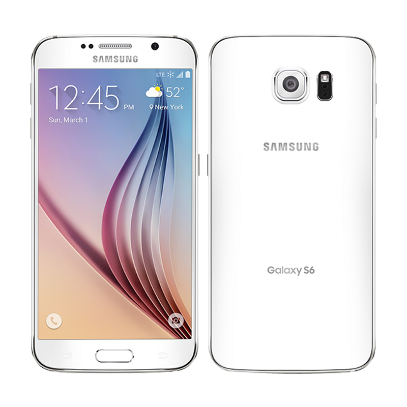 Unlocked Samsung Galaxy S6 G920F/G920V/G920A Single Sim Card Octa Core 3G RAM 32GB ROM WCDMA LTE 16MP Camera 5.1 Inch Bluetooth