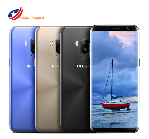 Bluboo S8 4G LTE MTK6750 Octa Core <font><b>3GB</b></font> <font><b>RAM</b></font> 32GB ROM 13MP Dual Rear 5.7&#8221; HD 18:9 Aspect Ratio Full Display 3450mAh <font><b>Smartphone</b></font>