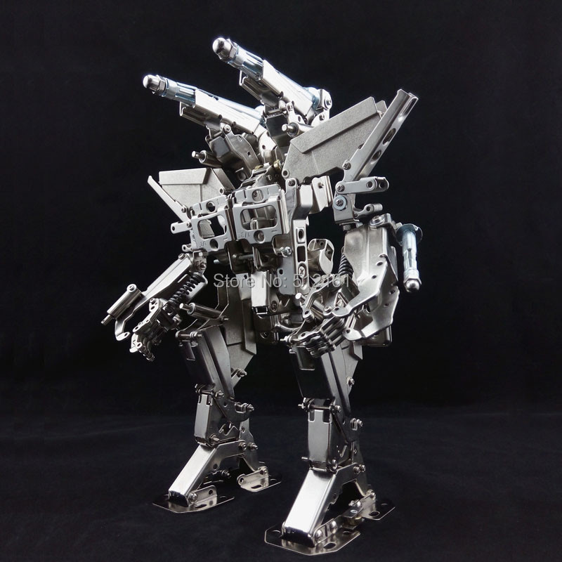 New limited edition diy Full metal nickel model of the robot kits Destroyer II Mech model mechanical Party new mf8 eitan s star icosaix radiolarian puzzle magic cube black and primary limited edition very challenging welcome to buy