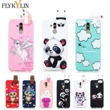 Silicone Case on sFor Etui Huawei Mate 20 Lite Cover For Fundas 10 Pro 3D Unicorn Panda Soft Phone