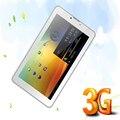 2016 Populares 7 Pulgadas Tableta de la Llamada de Teléfono de Doble Cámara de Doble Núcleo Dual SIM tarjeta de 2G 3G de Llamadas E Internet WIFI tablets pc 7 8 9 10 10.1