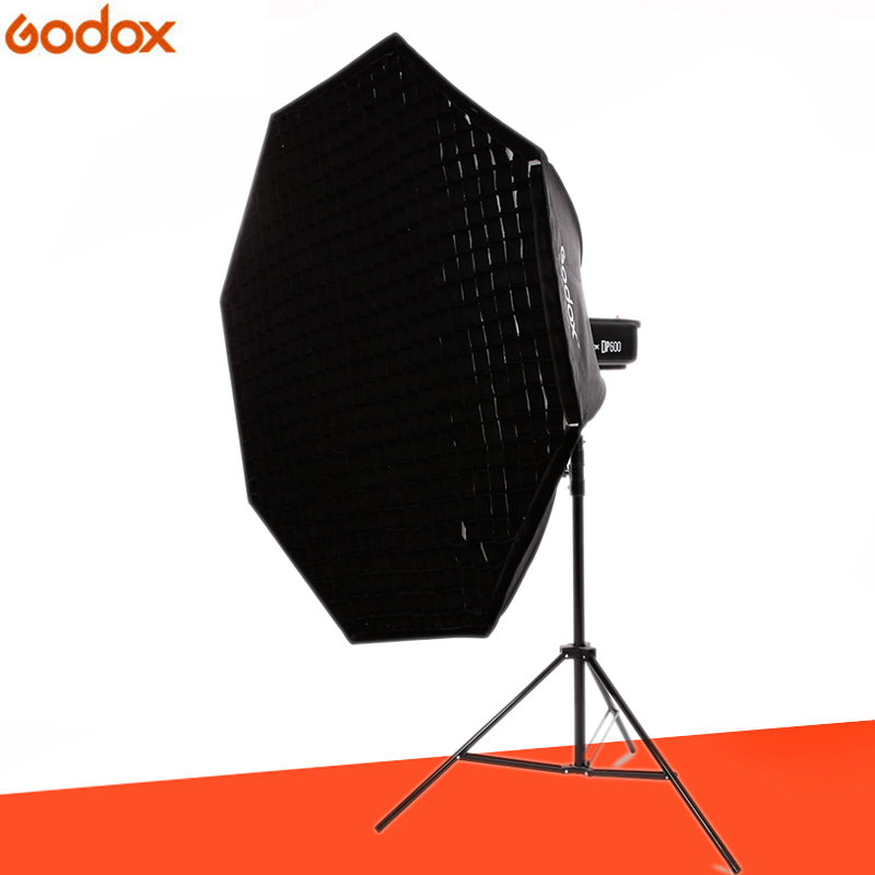Godox softbox 120cm 47 Octagon Honeycomb Grid Softbox soft box with Bowens Mount for Studio Flash