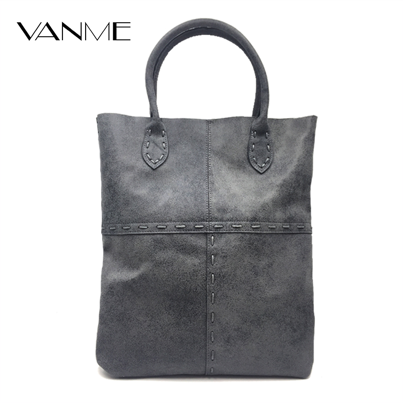New Luxury Designer High Quality Genuine Leather Women Bag Handbags Large Capacity Tote Bag Black Big Solid Women Shoulder Bags