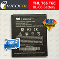 THL T6s Battery 2250mAh BL-06 Larg 100% New High Quality Replacement Battery for THL T6 Pro T6C Mobile Phone
