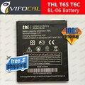 Thl Bateria 2250 mAh BL-06 Larg 100% Novo de Alta Qualidade Bateria de Substituição para THL T6 Pro T6C Telefone Móvel
