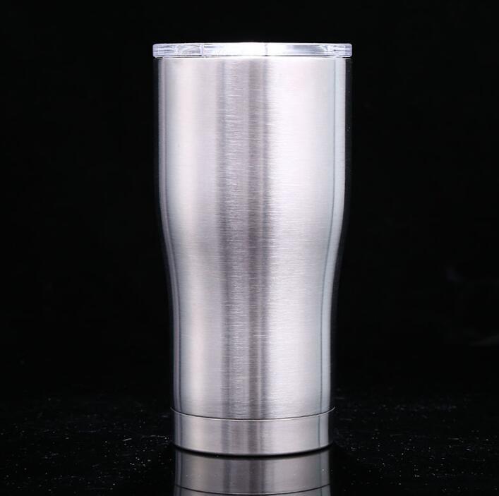 10 sztuk 30 uncji/20 oz kubek do kawy kubek ze stali nierdzewnej kubek z podwójną ścianką z izolacją próżniową kufle do piwa do picia kubki podróżne w Kubki od Dom i ogród na  Grupa 3