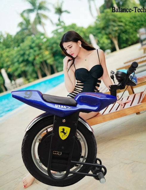18 Inch Electric Unicycle One Wheel Scooter 1000w Monowheel Skateboard Gyroscooter Smart Balance