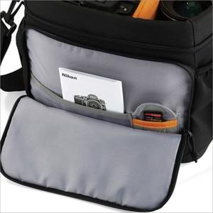 Image 2 - Lowepro aventua 120 appareil photo reflex numérique Triangle sac à bandoulière housse de pluie Portable taille boîtier étui pour Canon Nikon