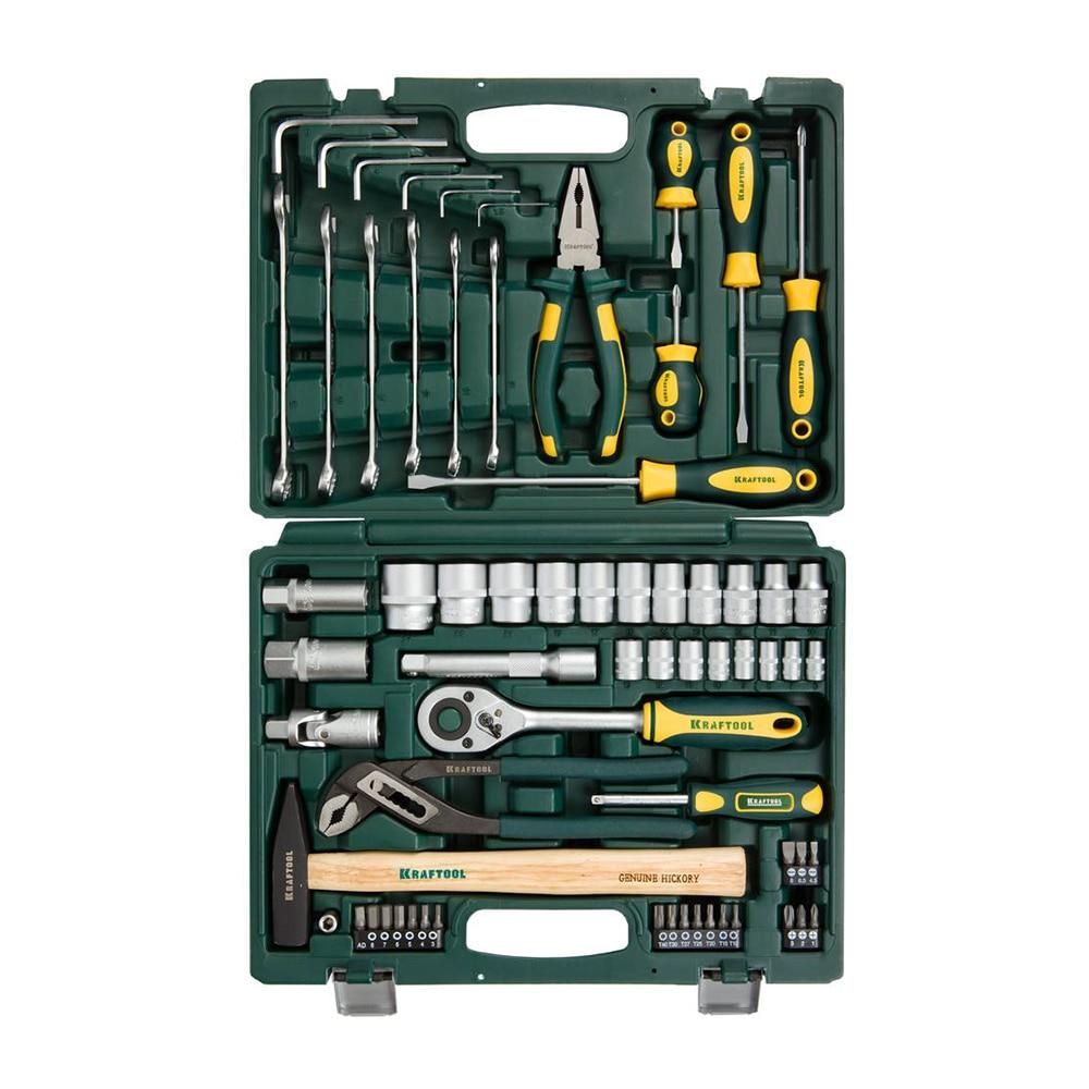 Set of hand tools KRAFTOOL 27976-H66