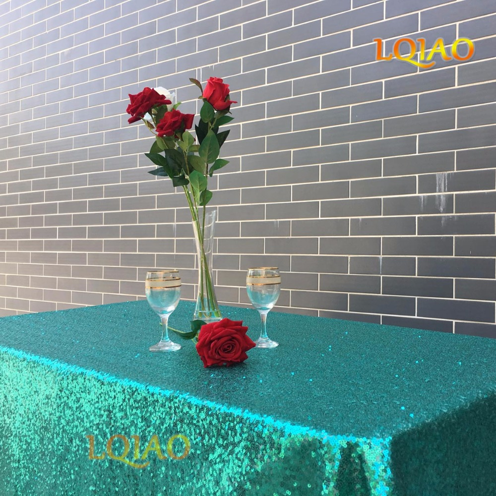 14 color 120cmX400cm Glitter Christmas Green Sequin Tablecloth Wedding Tablecloth Decoration Rectangle Sequin Table cloth