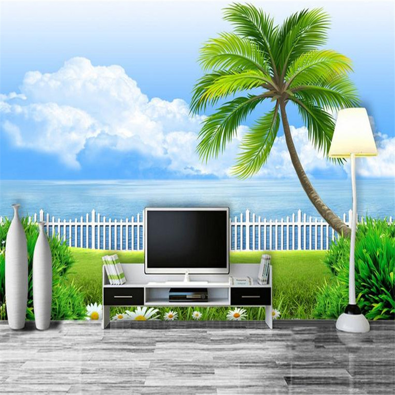 custom 3d HD  modern photo wallpaper stereoscopic home background wall mural The Aegean sea wallpaper for living room bedroom battlefield 3 или modern warfare 3 что