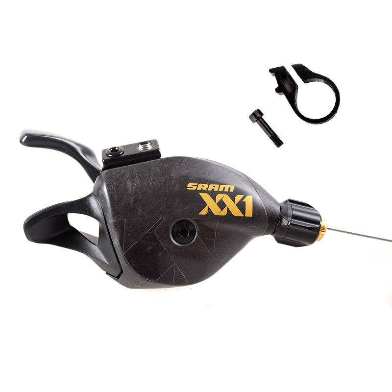 SRAM XX1 EAGLE 12 скоростей MTB велосипедный рычаг переключения триггера правая сторона золото углерод покрыт