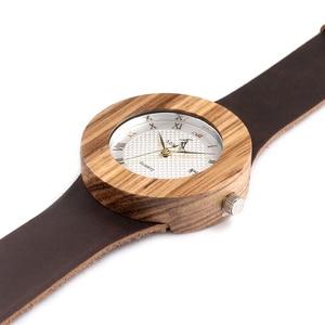 Image 5 - Original Brand Watches BOBO BIRD Men Luxury Watch Men Zebra Wood Wristwatches as Gifts relogio masculino C C01