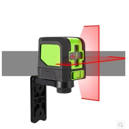 Free shipping IP54 Waterproof Portable 2 Lines Laser Rotary Level High Quality Red Line Dustproof free shipping wholesales laser 2 line lase level marker mouse se sl2