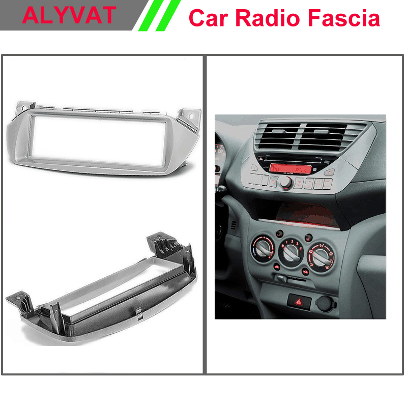 Autoradio Car DVD GPS Radio Fascia for NISSAN Pixo SUZUKI Alto Maruti A-Star Stereo Facia Surround install trim fit Dash Kit ...