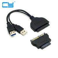1 bộ USB 3.0 để SATA 22Pin & SATA để 16Pin Micro SATA Adapter đối với 1.8