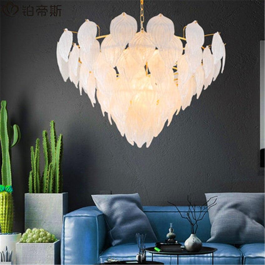 Modern Loft Glass Pendant Light Lighting Kitchen Fixtures Pendant Lamp Bedroom Living Room Interior Decor Hanging Lamp Luminaire