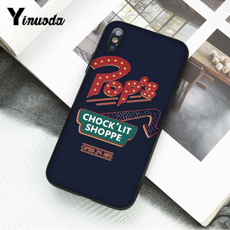 Yinuoda American TV Riverdale Southside Serpent Jughead Jones Silicone Phone Case for iPhone 8 7 6 6S Plus X XS MAX 5S SE XR 10