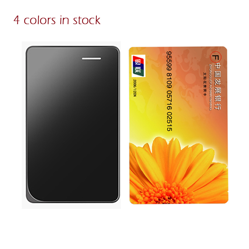 2016 Original AEKU AIEK A7 Ultra Thin Card Phone Build in 8G Memory MP3 Player Bluetooth