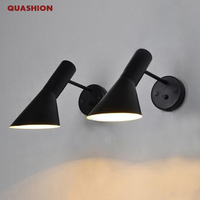 Alta Qualidade minimalismo Moderno luzes de Parede Criativo sala de estar quarto den lâmpada de Parede Moderna Arandela arandela com interruptor