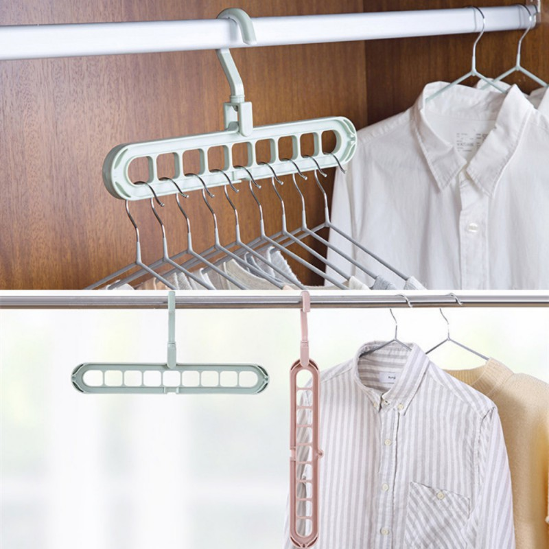 Hangers Garment Drying Rack Rotating Rotate Clothing Closet Hook Organizer Clothes Hanger Holder Storage Home Organization