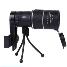 High Power Monocular 16x52 Telescope Spotting Scope Optical Monoculars Dual Focusing for smartphone Zoom Hunting Tools