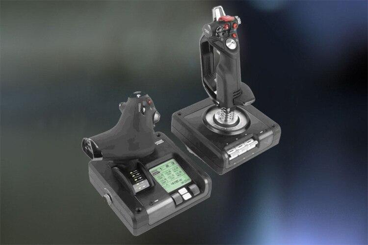 52 Professional Flight Simulator Joystick-in Joysticks from