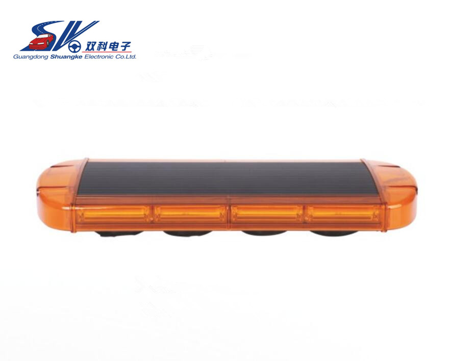 21.5 100W brightest COB LED Emergency Recovery Wrecker Flashing Beacon Strobe Light Bar with Amber red blue white color
